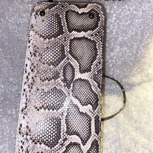 Snake Print Purse